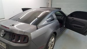 mustang sport car window tinting uv el paso texas 8409 lockheed sports car tinting